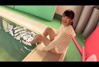 たべごろ娘白咲碧ちゃんがプールサイドでパイパン合掌!